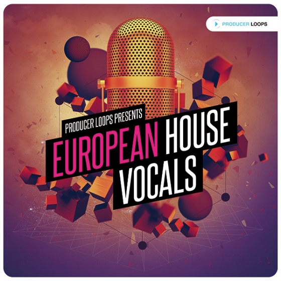 Producer Loops European House Vocals Vol 1 ACiD WAV MiDi REX