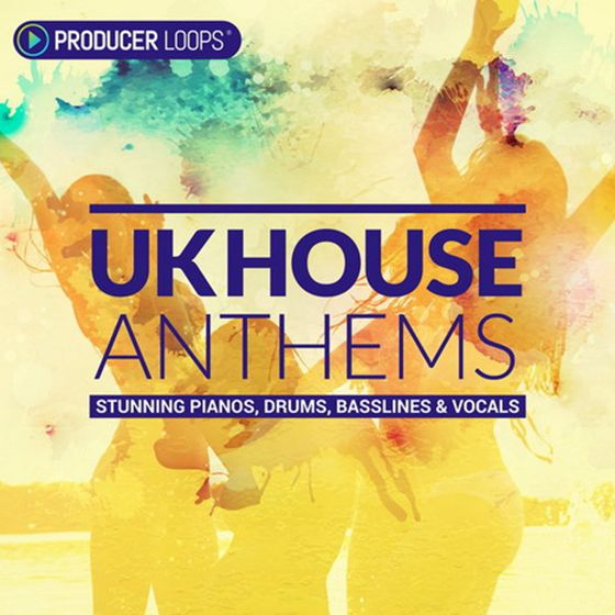 Producer Loops UK House Anthems MULTiFORMAT DVDR