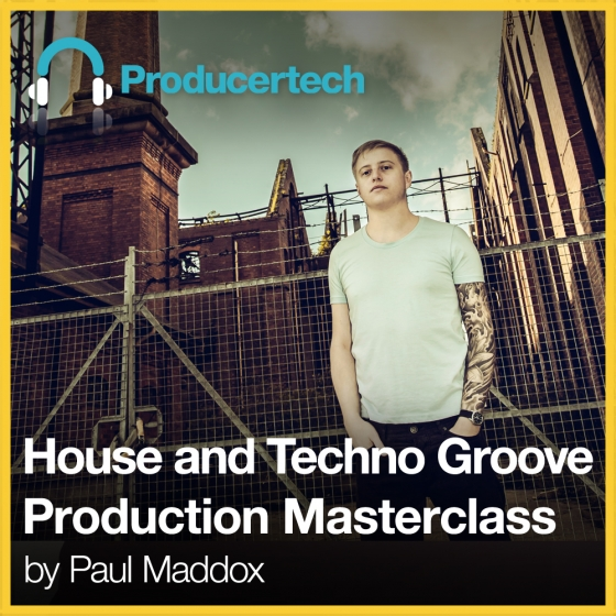 Producertech house and techno groove production for Groove house music