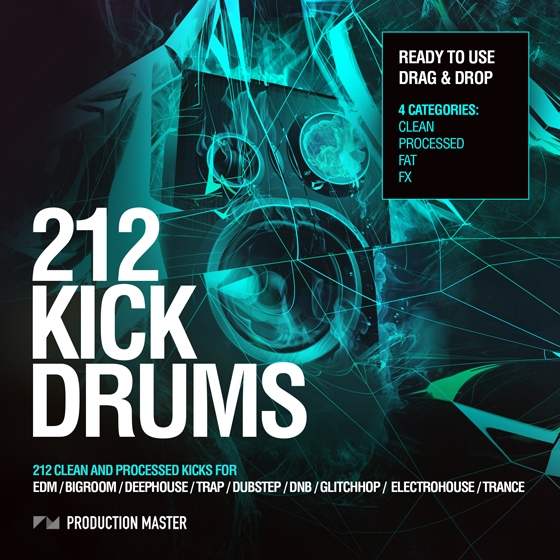 Production Master 212 Kick Drums Vol.1 WAV-AUDIOSTRiKE