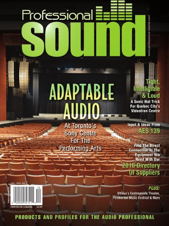 Professional Sound December 2015