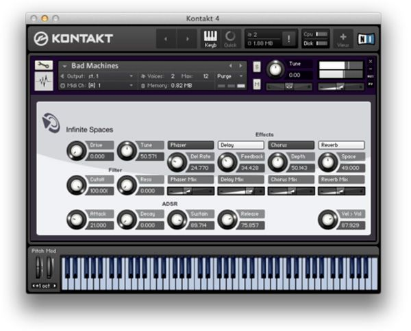 Puremagnetik Infinite Spaces KONTAKT Logic Live 9