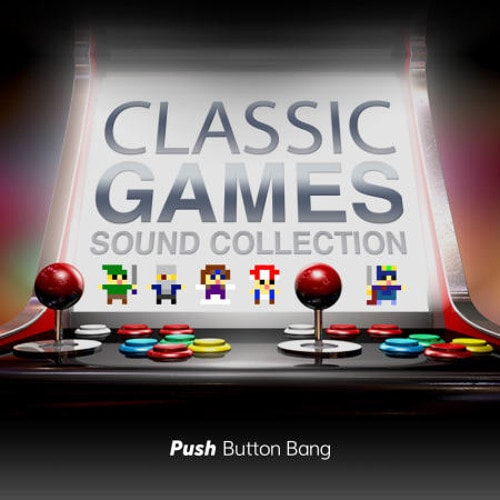 Push Button Bang Classic Games Sound Collection WAV