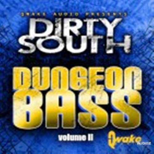 Quake Audio Dirty South Dungeon Bass 2 WAV MIDI FLP