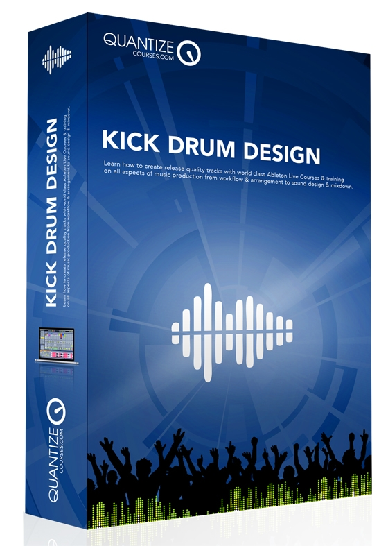 QuantizeCourses Kick Drum Design TUTORiAL