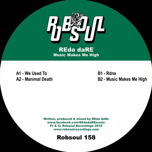 REda daRE – Music Makes Me High [RB158]