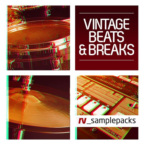 RV Sample Packs Vintage Beats and Breaks MULTiFORMAT