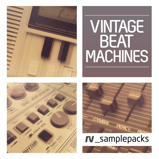 RV Samplepacks Vintage Beat Machines MULTiFORMAT