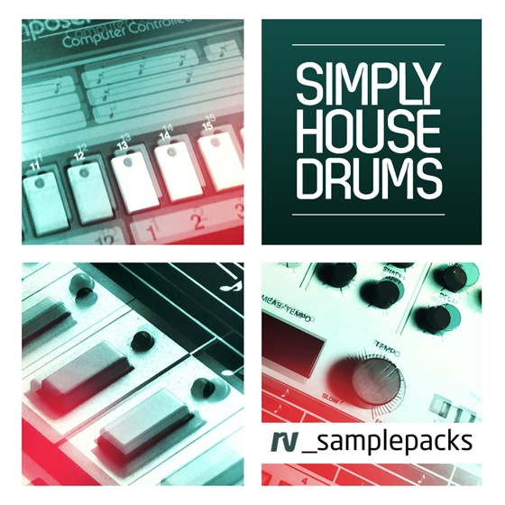 RV_Samples Simply House Drums MULTiFORMAT