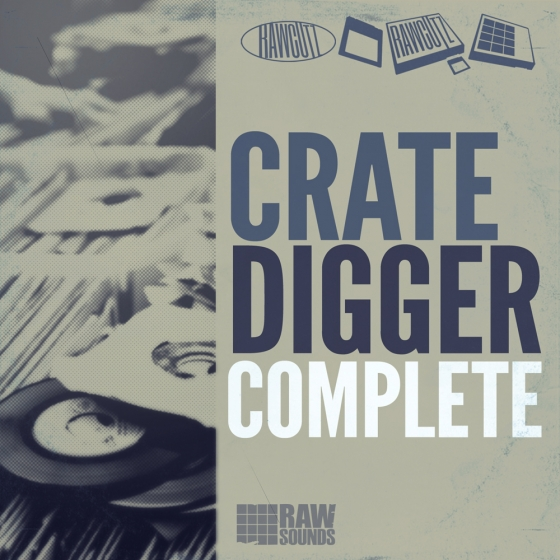 Rawcutz crate digger complete wav rex for Classic house sample pack