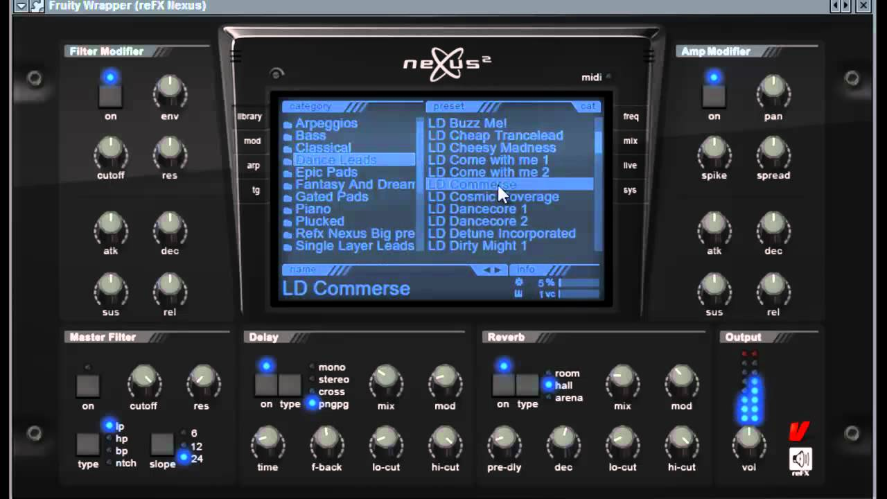 ReFX Bigtone Signature 2 for Nexus2 NXP