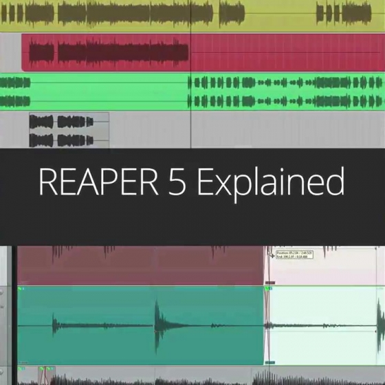 Reaper 5 Explained with Kenny Gioia TUTORiAL