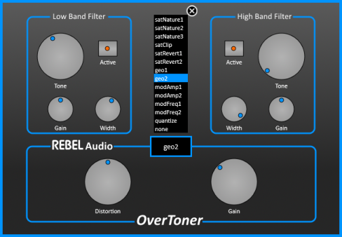 Rebel Audio OverToner v1.0 x32 x64 WIN