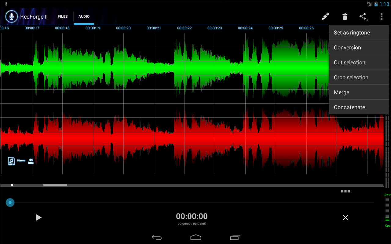 RecForge II Pro Audio Recorder v1.0.0g For Android