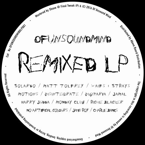 VA - Remixed LP [OFUNSOUNDMINDLP001]