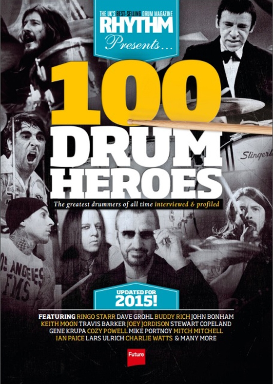 Rhythm 100 Greatest Drum Heroes