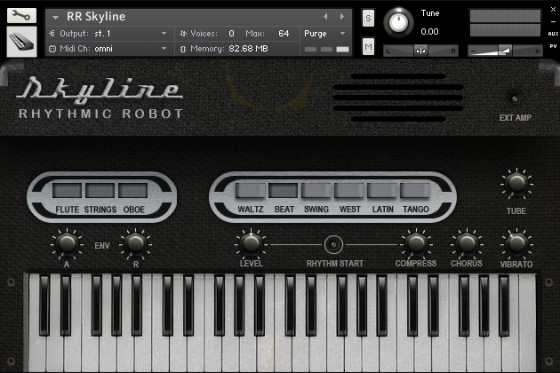 Rhythmic Robot Audio Skyline KONTAKT