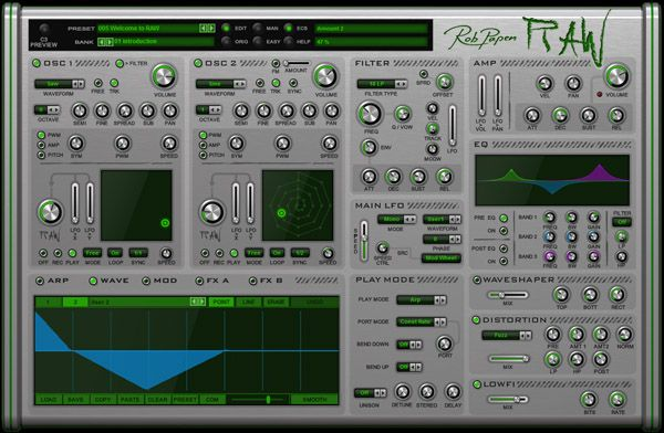 Rob Papen RAW v1.0.2a-R2R