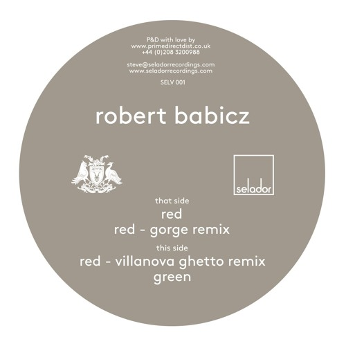 Robert Babicz – Red / Green [SELV001]
