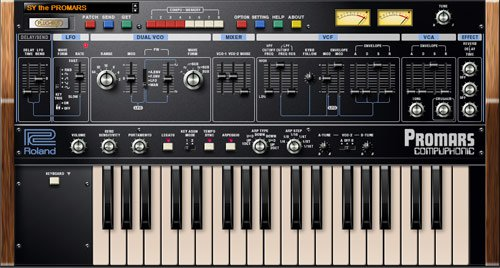 Roland PROMARS v1.0.2 Plug Out Synth OSX