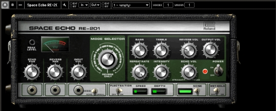Roland RE201 Space Echo for Reaktor