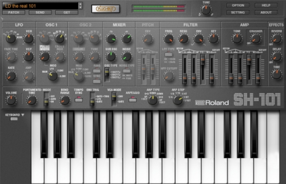 Roland SH-101 PLUG-OUT v1.0.4 Incl.Keygen-R2R