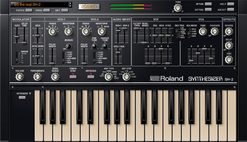 Roland SH-2 v1.0.3 Plug Out Synth OSX