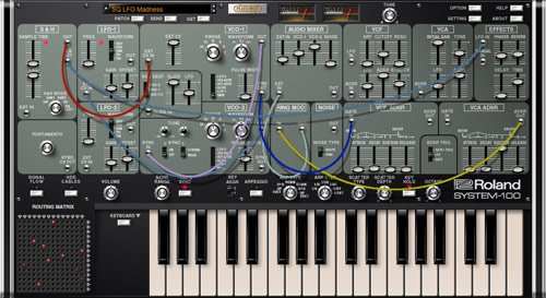 Roland System-100 v1.0.1 Plug Out Synth OSX