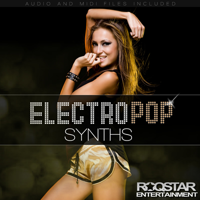 Roqstar Entertainment Electro Pop Synths Vol.1 ACID WAV MIDI