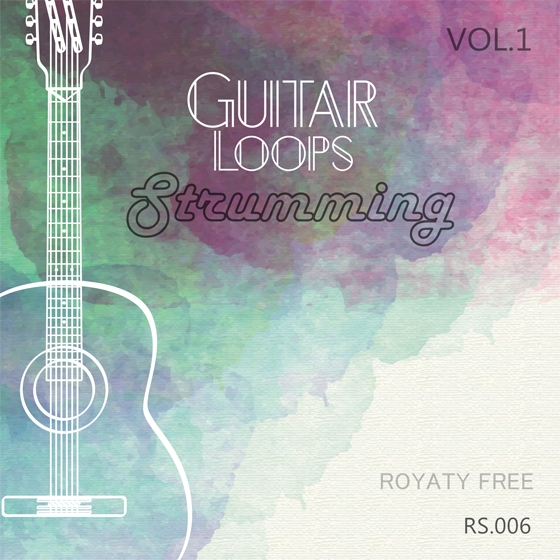 Roundel Sounds Guitar Loops Strumming Vol.1 WAV MiDi