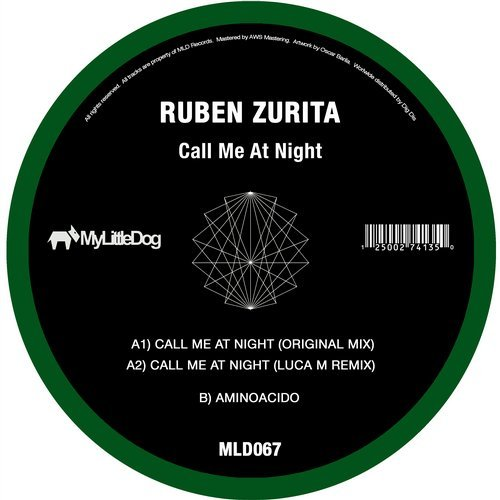 Ruben Zurita - Call Me At Night [MLD067]