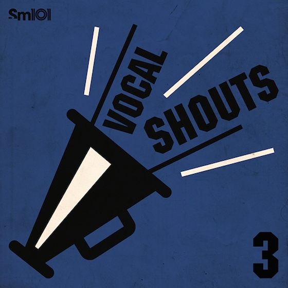 SM101 Vocal Shouts 3 WAV