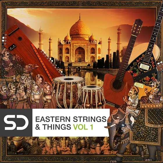 Sample Diggers Eastern Strings and Things Vol.1 WAV