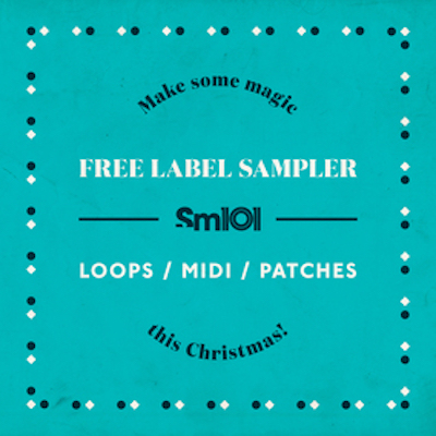 Sample Magic SM 101 Free Christmas Label Sampler ACID WAV MIDI MASSIVE PATCHES