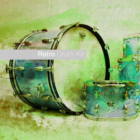 Sample Modern Retro Drum Kit