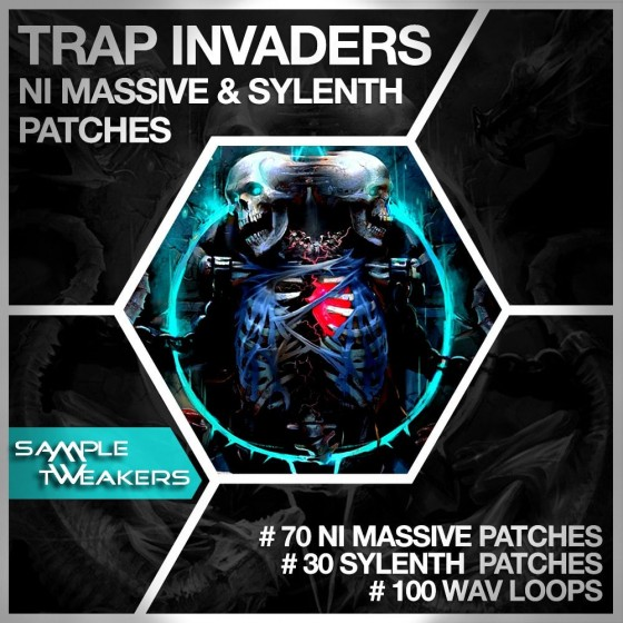 Sample Tweakers Trap Invaders For LENNAR DiGiTAL SYLENTH1 AND NATiVE iNSTRUMENTS MASSiVE