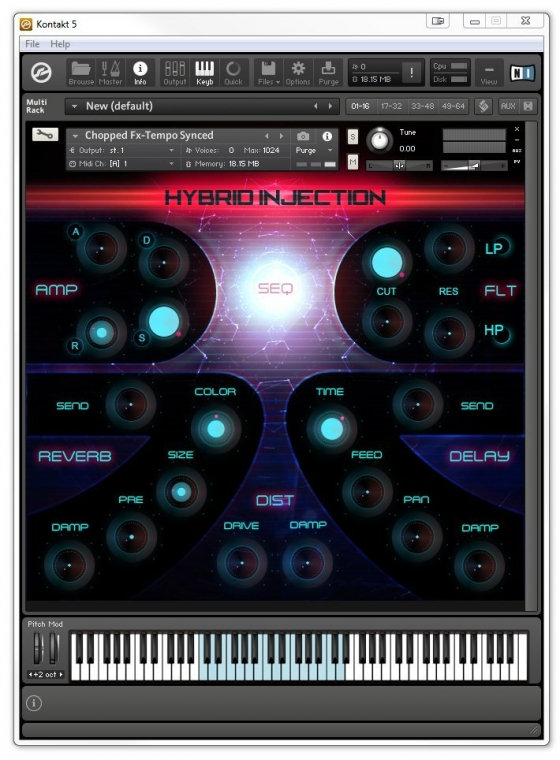 SampleCraft LLC Hybrid Injection KONTAKT