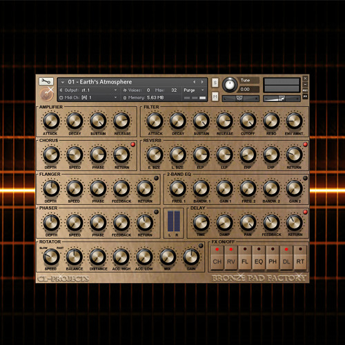Sampleism CL-Projects Bronze Pad Factory Inspiring Pad Sounds KONTAKT-KRock