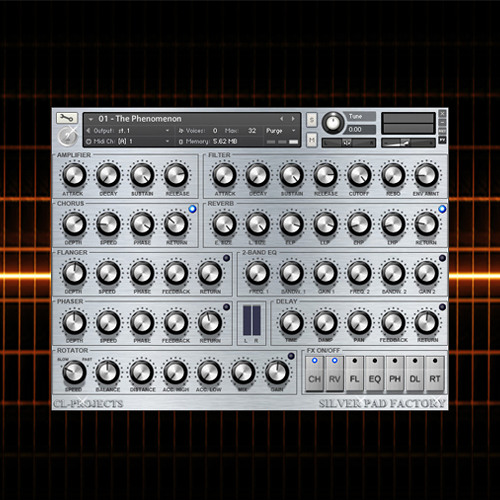 Sampleism CL-Projects Silver Pad Factory Inspiring Pad Sounds KONTAKT-KRock