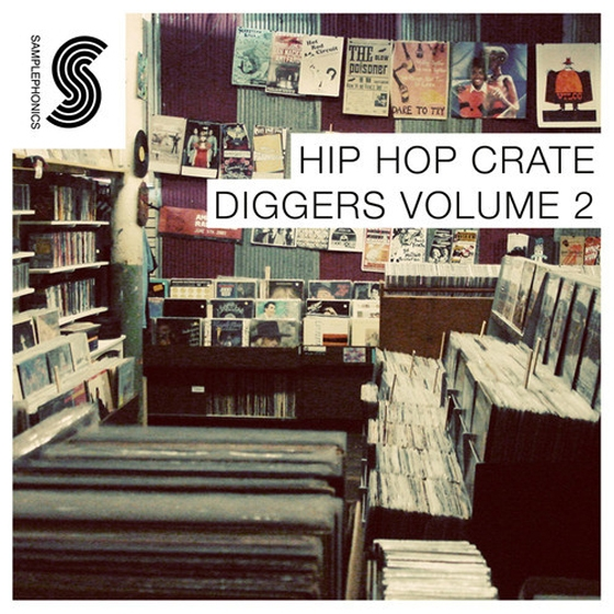Samplephonics hip hop crate diggers vol 2 multiformat for Samplephonics classic deep house