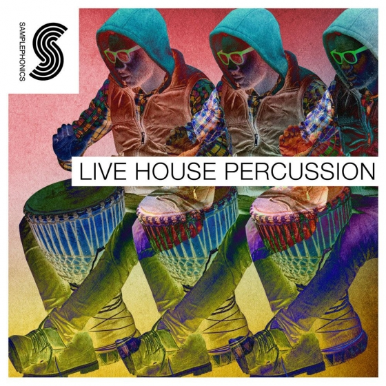 Samplephonics Live House Percussion MULTiFORMAT