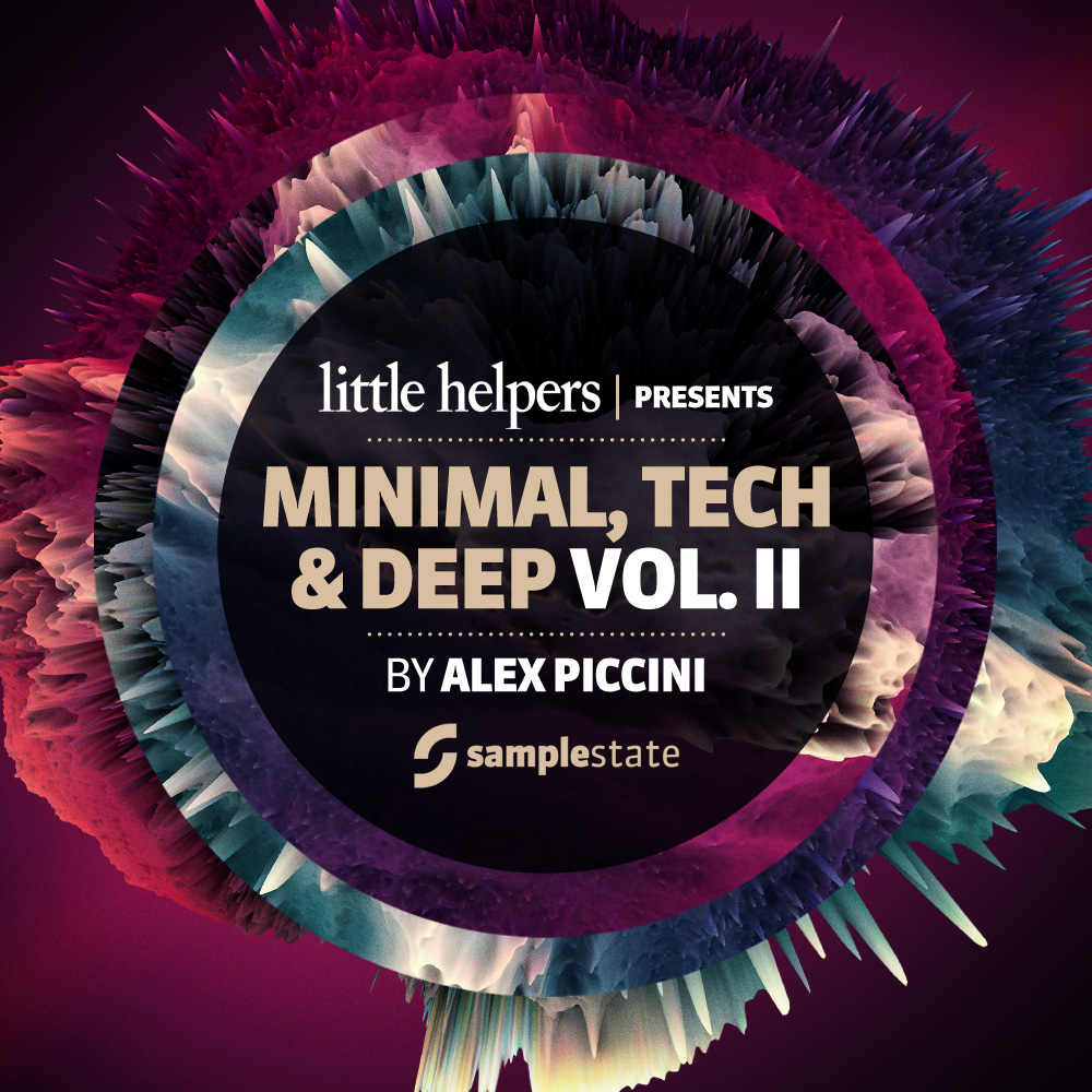 Samplestate Little Helpers Minimal Tech and Deep Vol.3