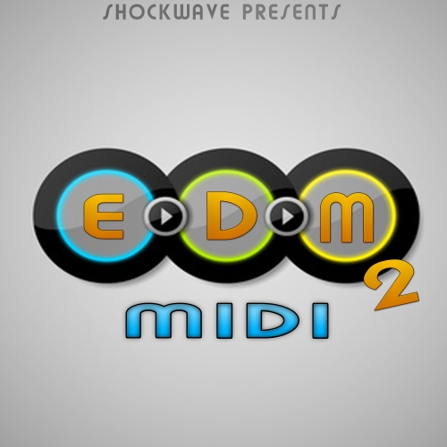 Shockwave EDM MIDI Vol.2 ACID WAV MIDI-DISCOVER