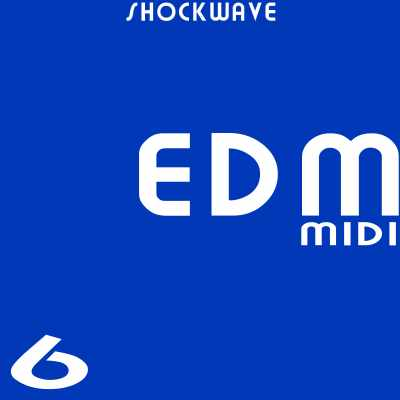 Shockwave EDM MIDI Vol.6 ACID WAV MIDI-DISCOVER