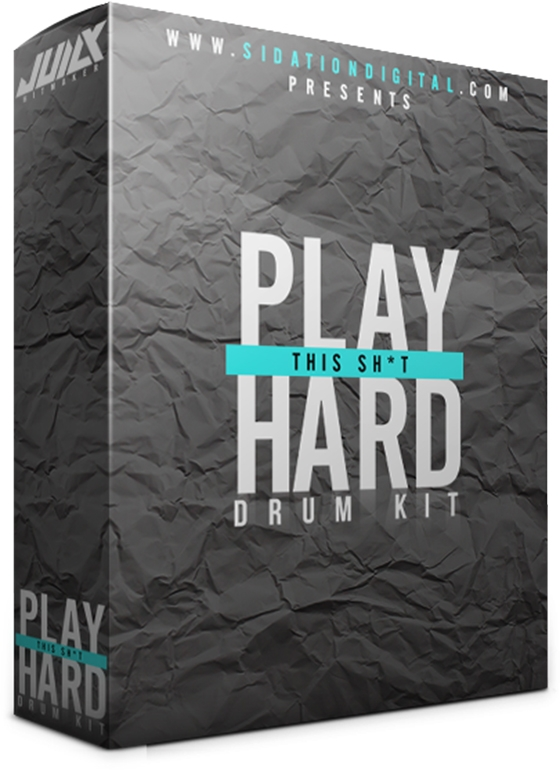 SiDation Play This Sh*t Hard Drum Kit WAV