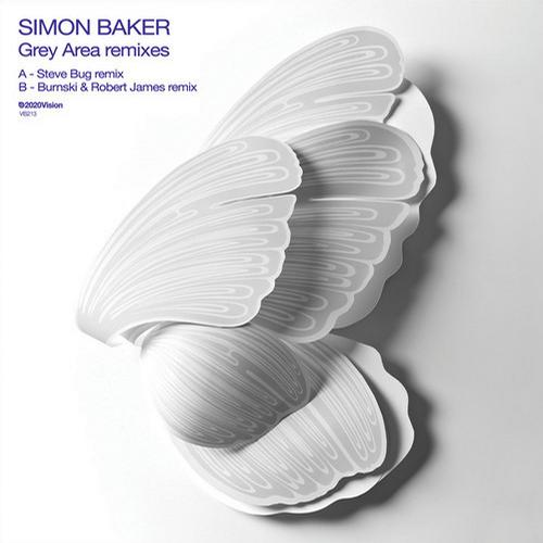 Simon Baker – Grey Area (Remixes) [VIS213D]
