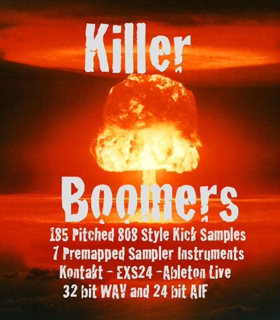 Simtek's Killer Boomers Sample Pack MULTiFORMAT
