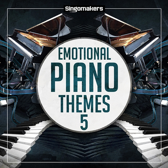 Singomakers Emotional Piano Themes Vol 5 WAV MiDi