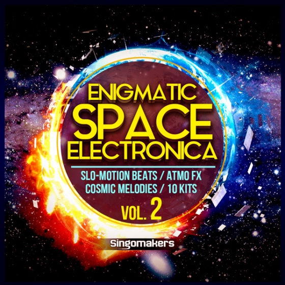 Singomakers Enigmatic Space Electronica Vol.2 WAV MiDi-AUDIOSTRiKE