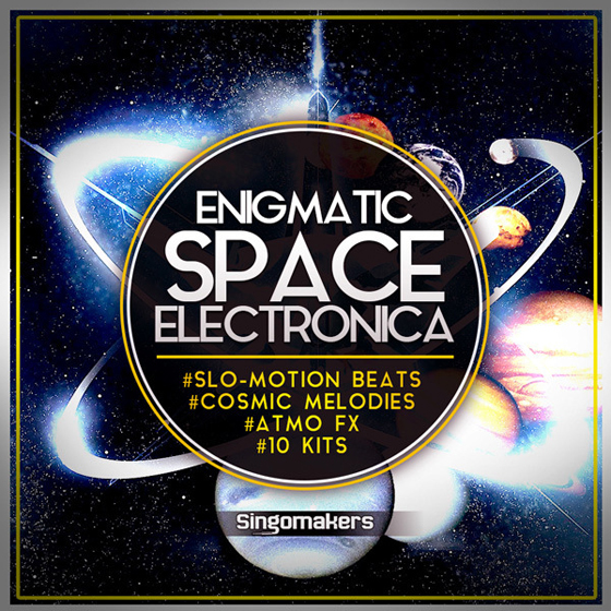 Singomakers Enigmatic Space Electronica WAV MiDi-MAGNETRiXX